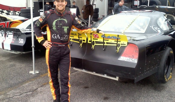 David standing by the #33 Nascar Late Model