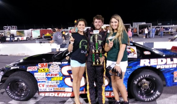 Lauren Murphy and Taylor Powell in Victory Lane With David